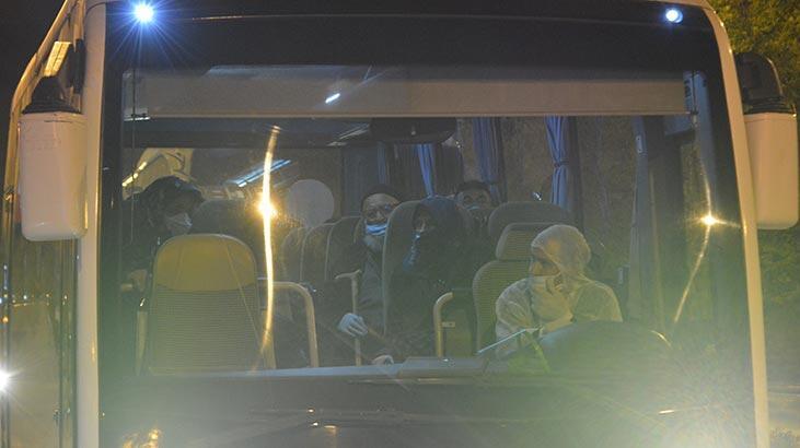 İtalya'dan getirilen 194 Türk vatandaşı Karaman'da yurda  yerleştirildi