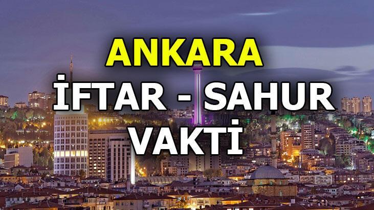 Ankara iftar vakti bugün saat kaçta? 25 Nisan 2020 imsakiye