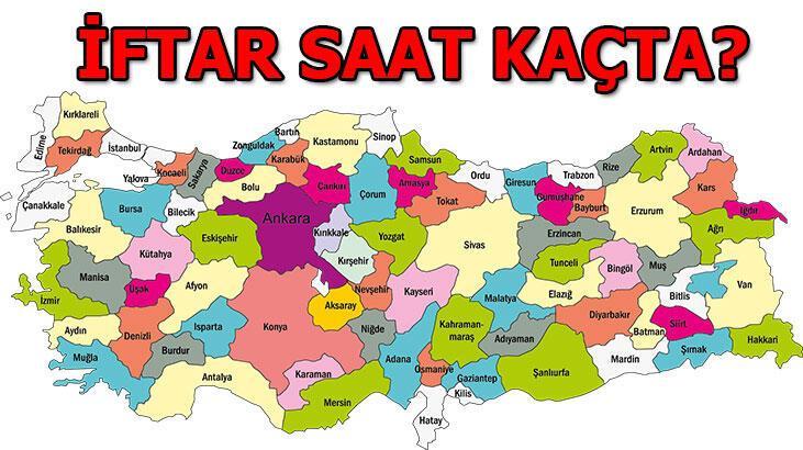 İftar saat kaçta bugün? İmsakiye İstanbul - Ankara - İzmir ve diğer illerin iftar vakti 2020