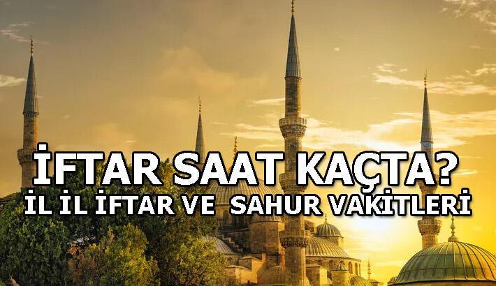 İftar saatleri: 2020 Ramazan İmsakiyesi! İstanbul - Ankara - İzmir iftar ve sahur vakitleri