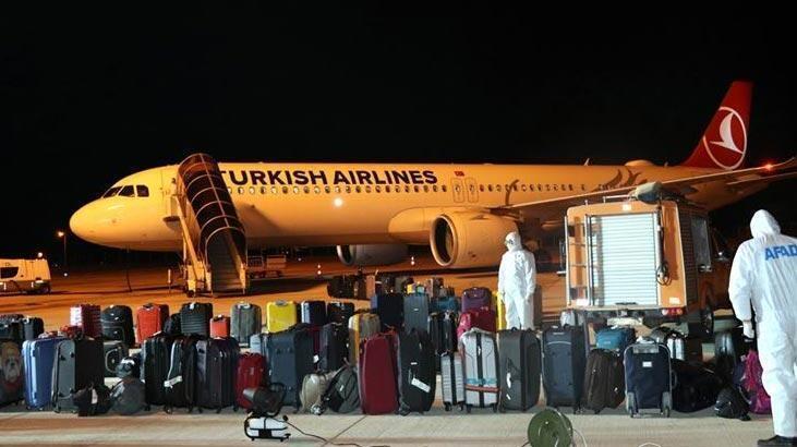 'Yurt dışından 1411 Türk vatandaşı daha tahliye edildi'
