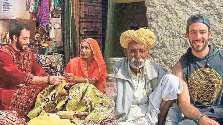 İzmirli gezgin Hindistan'da mahsur kaldı