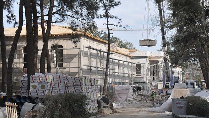 Tarihi Hadımköy Askeri Hastanesi için geri sayım başladı