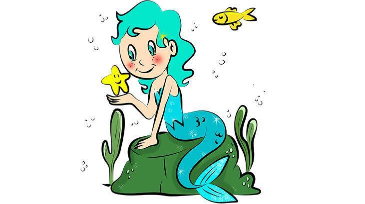 Deniz Kızı Hikayesi ve Masalı Oku - Denizlerin dibinde…