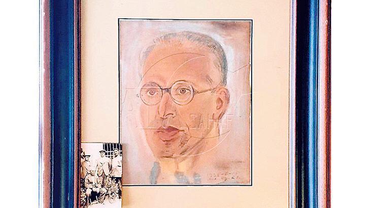 Ruşen Eşref portresi İtalya'ya gidiyor
