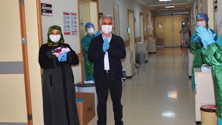 58 yaşındaki karı-koca corona virüsü yendi!