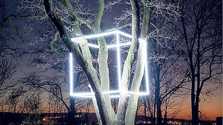 Işıkla ortaya çıkan sanat