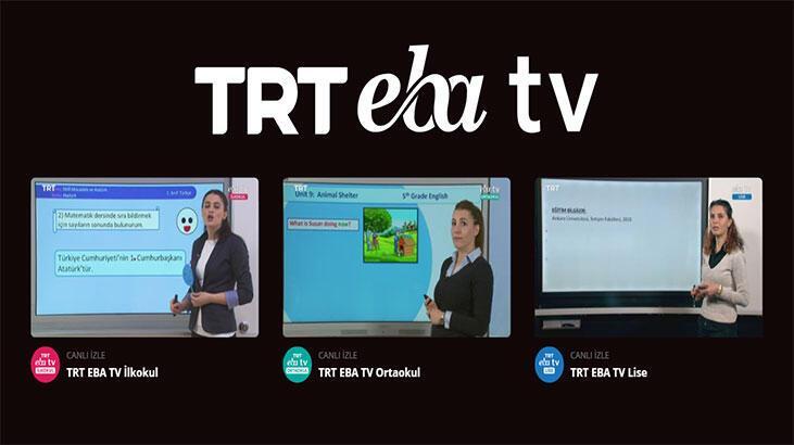 EBA - TRT izleme linki! EBA'da bugün ders var mı? 1 Mayıs 2020