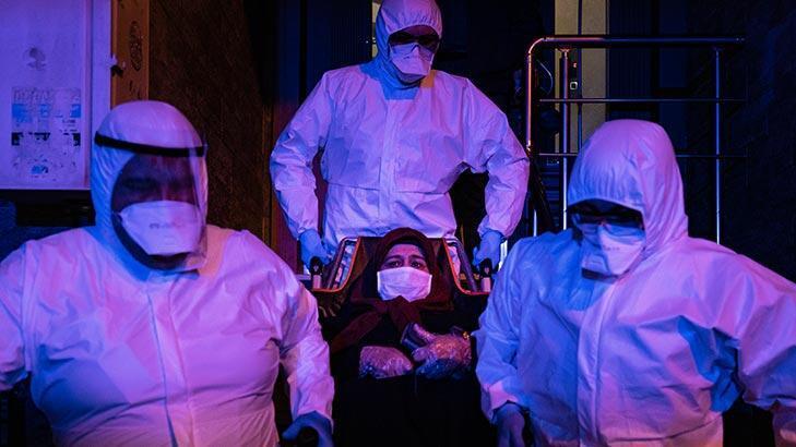 Ambulansla corona virüs mücadelesi!