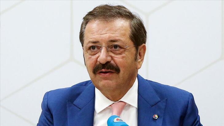 """TOBB Başkanı Hisarcıklıoğlu, """"Dijital Tarım Pazarı"""" tanıtım toplantısında konuştu"""