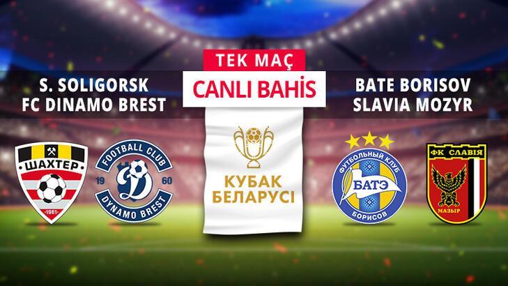 Belarus Kupası'nda yarı final rövanşları!