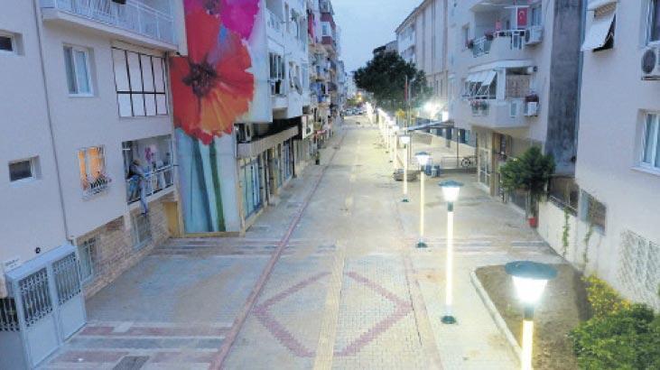 Narlıdere'nin yeni sevgi yolu tamam
