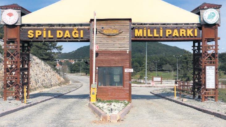 Spil Dağı Milli Parkı'nda ses seda yok