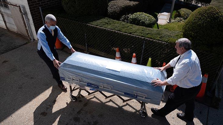 'ABD'de ölümler resmi rakamlardan daha fazla'