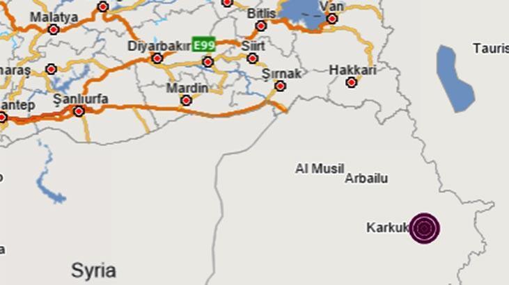 Son dakika | Irak'ta korkutan deprem! Büyüklüğü...