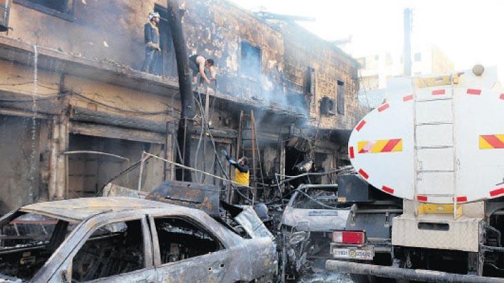Afrin'de güvenlik önlemleri artırıldı
