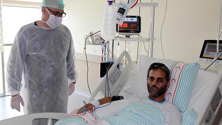 Corona'yı yenen doktor diğer hastalara umut oldu!
