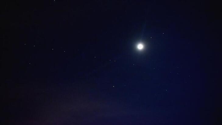 Starlink uyduları Mersin'de görüldü!