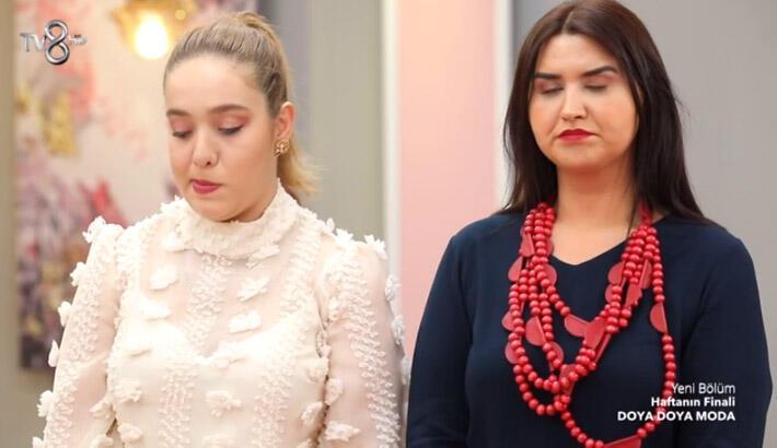Doya Doya Moda kim elendi? Doya Doya Moda haftanın finalinde kolyenin sahibi kim oldu?
