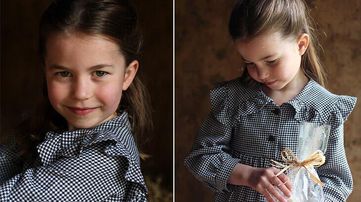 Kate ve William'ın ikinci çocukları Prenses Charlotte, 5 yaşını karantinada kutladı