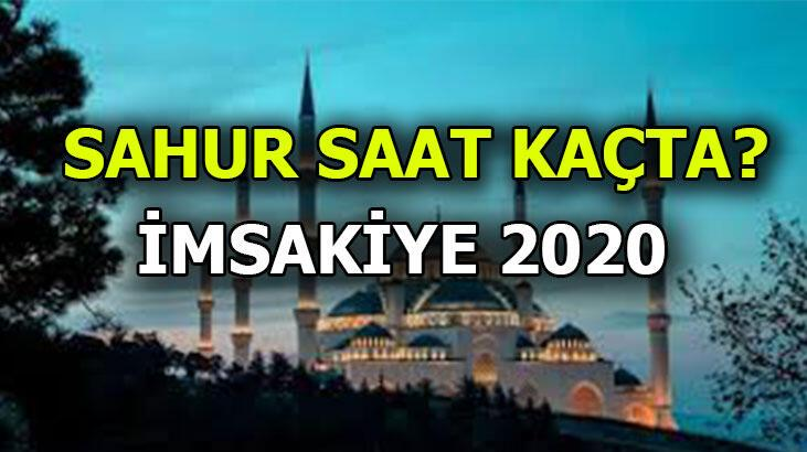 Sahur saat kaçta? Ankara - İstanbul - İzmir ve diğer illerin imsakiye 2020