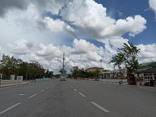 Gercüş'te sokak ve caddelerde boş kaldı