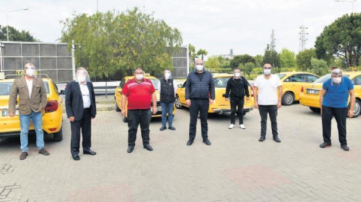 Gümrükçü'den taksicilere siperlik