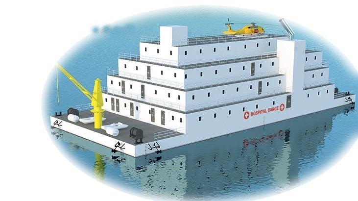 'Yüzer hastane gerekli'