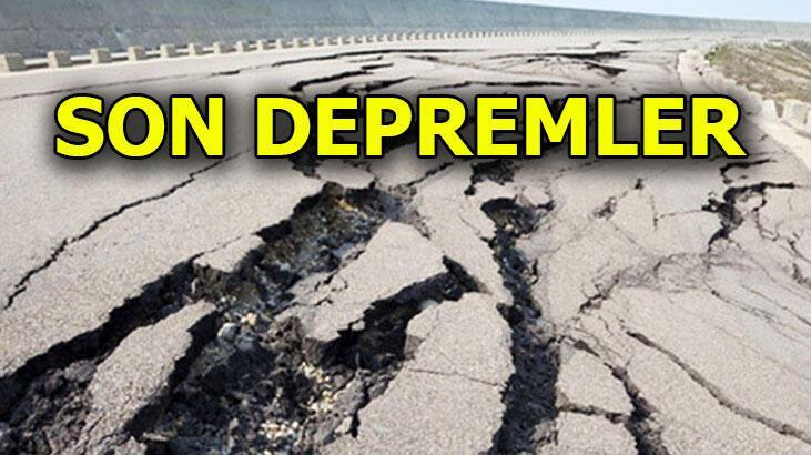 Deprem mi oldu? Son depremler listesi AFAD - Kandilli Rasathanesi son dakika deprem haberleri