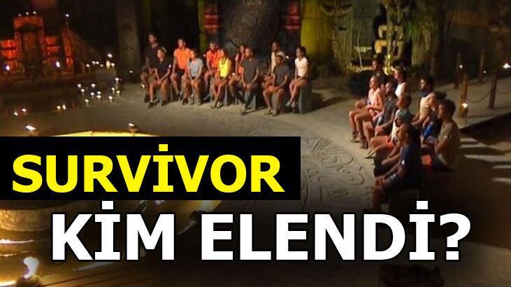 Survivor'da kim elendi? Survivor 2020'de dün akşam hangi isim elendi?