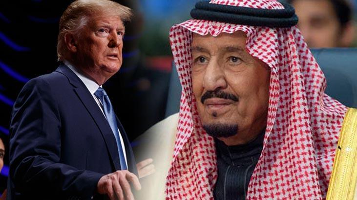 Trump ile Kral Selman'dan kritik görüşme