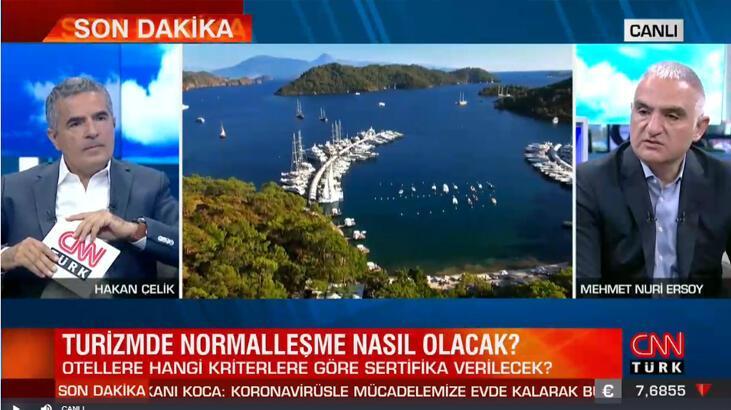 Son dakika... Turizm Bakanı Ersoy'dan önemli açıklamalar