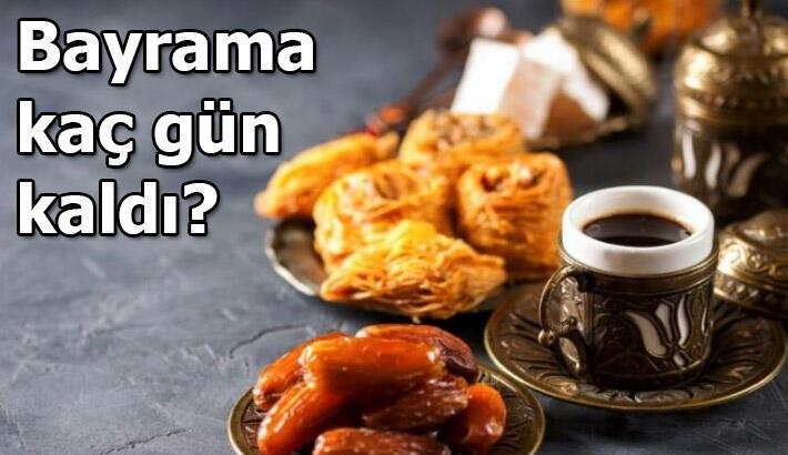 2020 Ramazan Bayramına kaç gün kaldı, kısıtlamalar devam edecek mi? Bayram tatili kaç gün olacak?