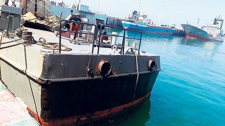 İran ordusu kendi gemisini batırdı!