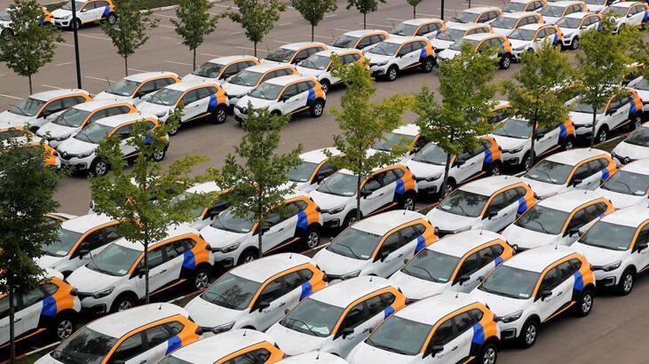 Rusya'da otomobil satışları tarihi düşüş kaydetti
