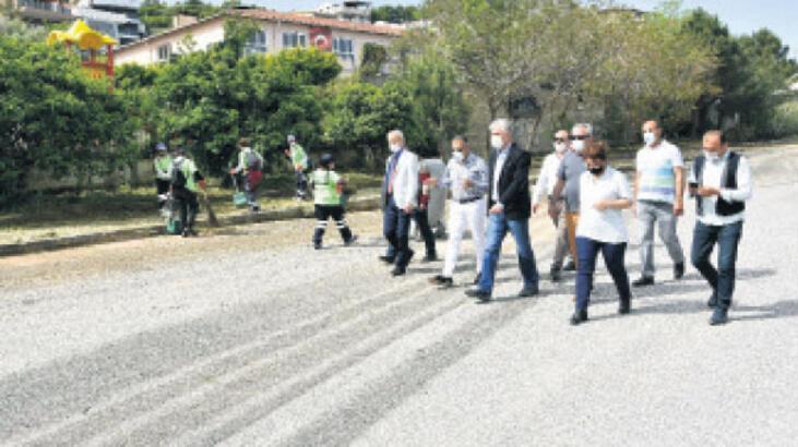 Narlıdere'de tüm sokaklar bakımda