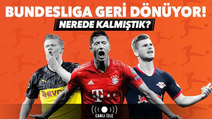 Bundesliga geri dönüyor! Heyecan tek maç ve canlı bahisle Misli.com'da...