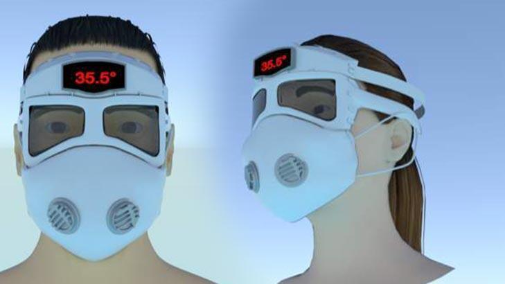 Yerli firmadan akıllı maske! Verileri anında sağlık kuruluşuna iletecek