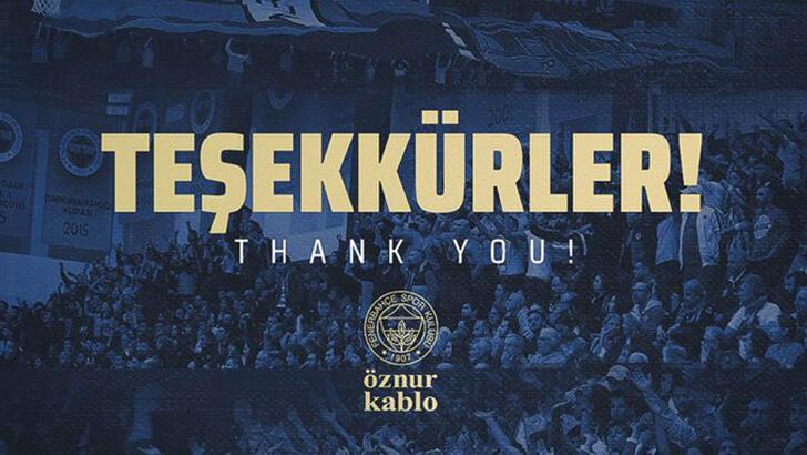 Fenerbahçe Kadın Basketbol Takımı'ndan taraftarlara teşekkür
