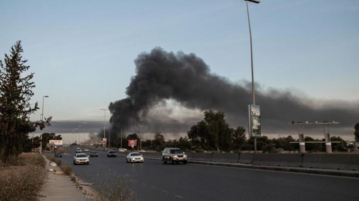 Libya ordusu stratejik Vatiyye Hava Üssü'ne 57 hava operasyonu düzenledi