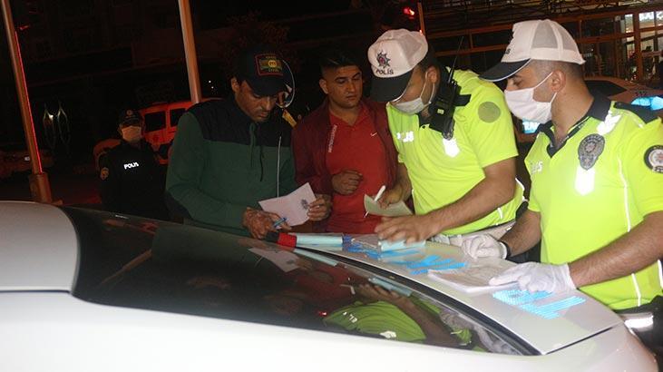 'Gürültü cezasına' itiraz edince... Polisler böyle ikna etti