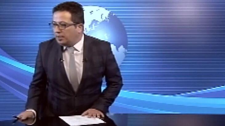 Haber spikeri depreme canlı yayında yakalandı