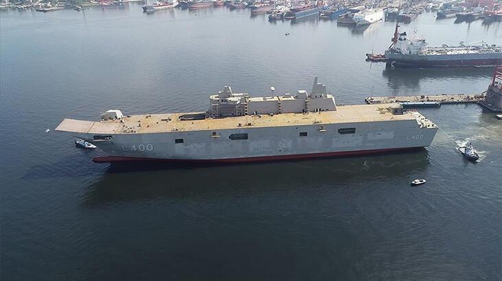 Son dakika: Türkiye'nin en büyük savaş gemisi ABD basınında: Daha da güçlenecekler!