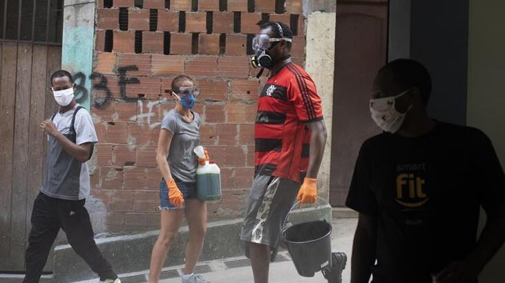 Brezilya'da son 24 saatte 749 kişi hayatını kaybetti