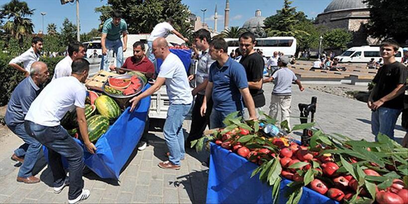 Son dakika! Gaziantep'te, seyyar satıcılara corona virüs yasağı