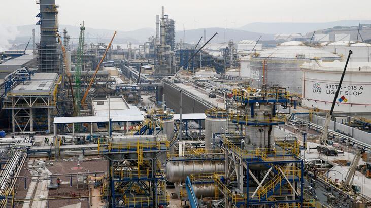 Petkim'in üretimi yılın ilk çeyreğinde yüzde 2 arttı