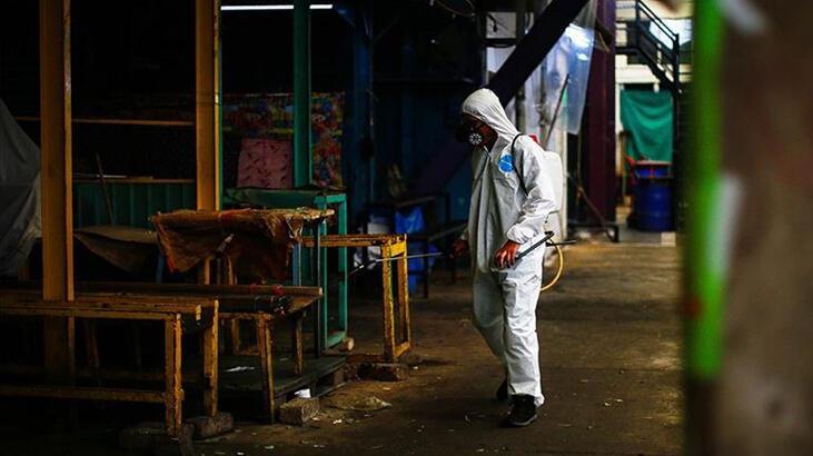 Meksika'da Covid-19 nedeniyle son 24 saatte 257 kişi öldü