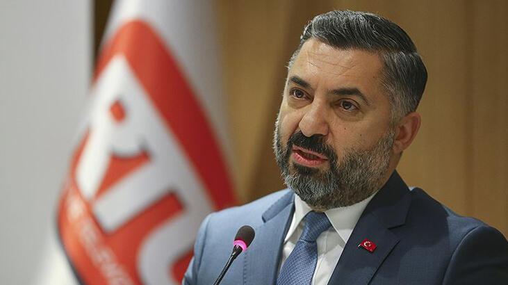 Son dakika haberi I RTÜK Başkanı Şahin: 'Üst Kurul talimatla iş yapmaz'