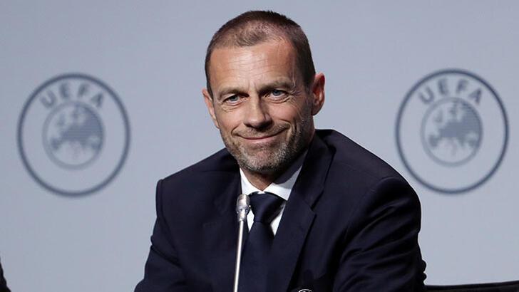 """UEFA Başkanı Ceferin: """"Avrupa Kupaları'nı iptal etme düşüncemiz şimdilik yok"""""""