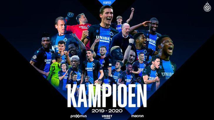 Son dakika | Belçika Ligi resmen tescil edildi! Şampiyon Club Brugge...